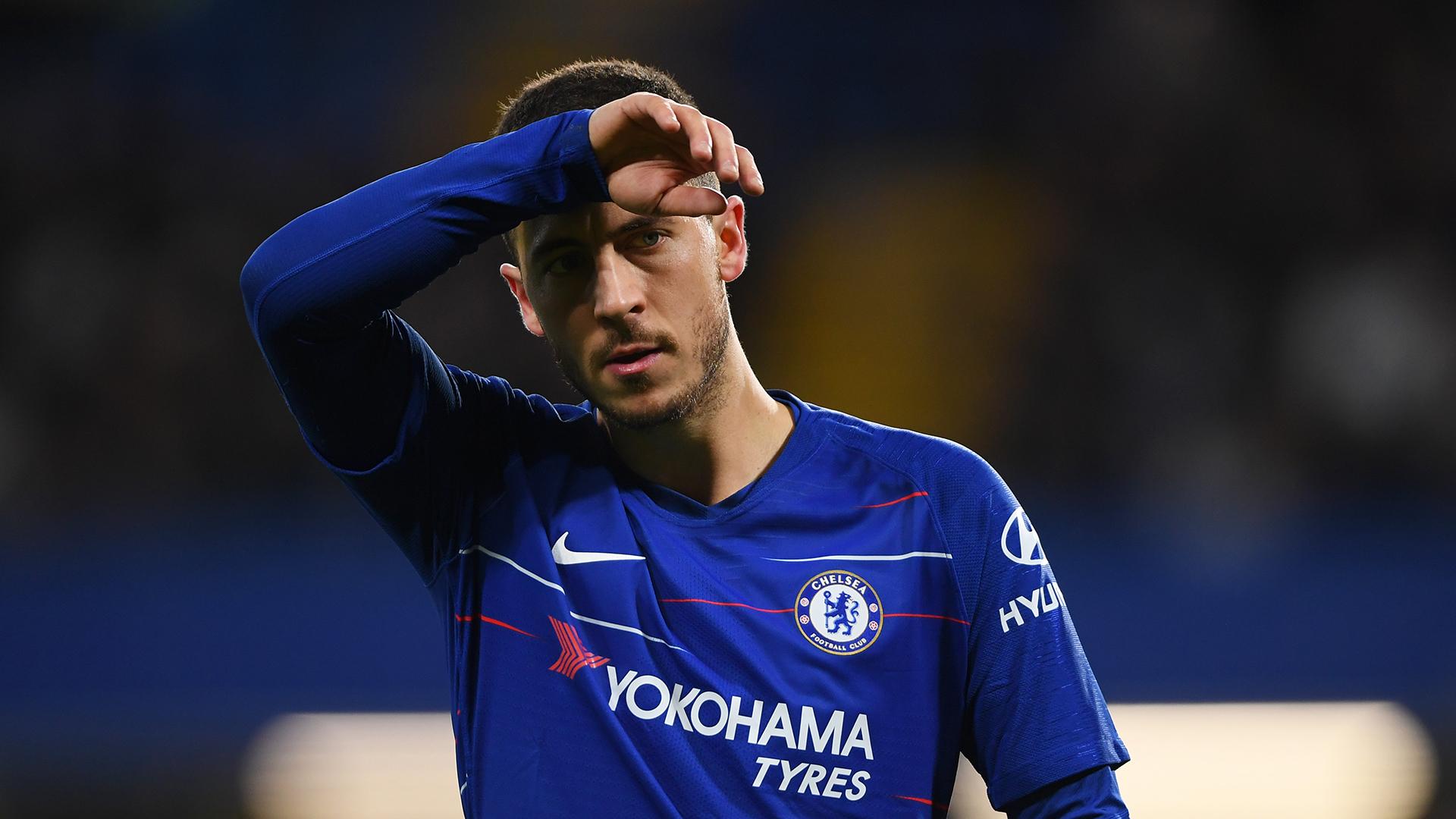 Eden Hazard Chelsea Manchester United