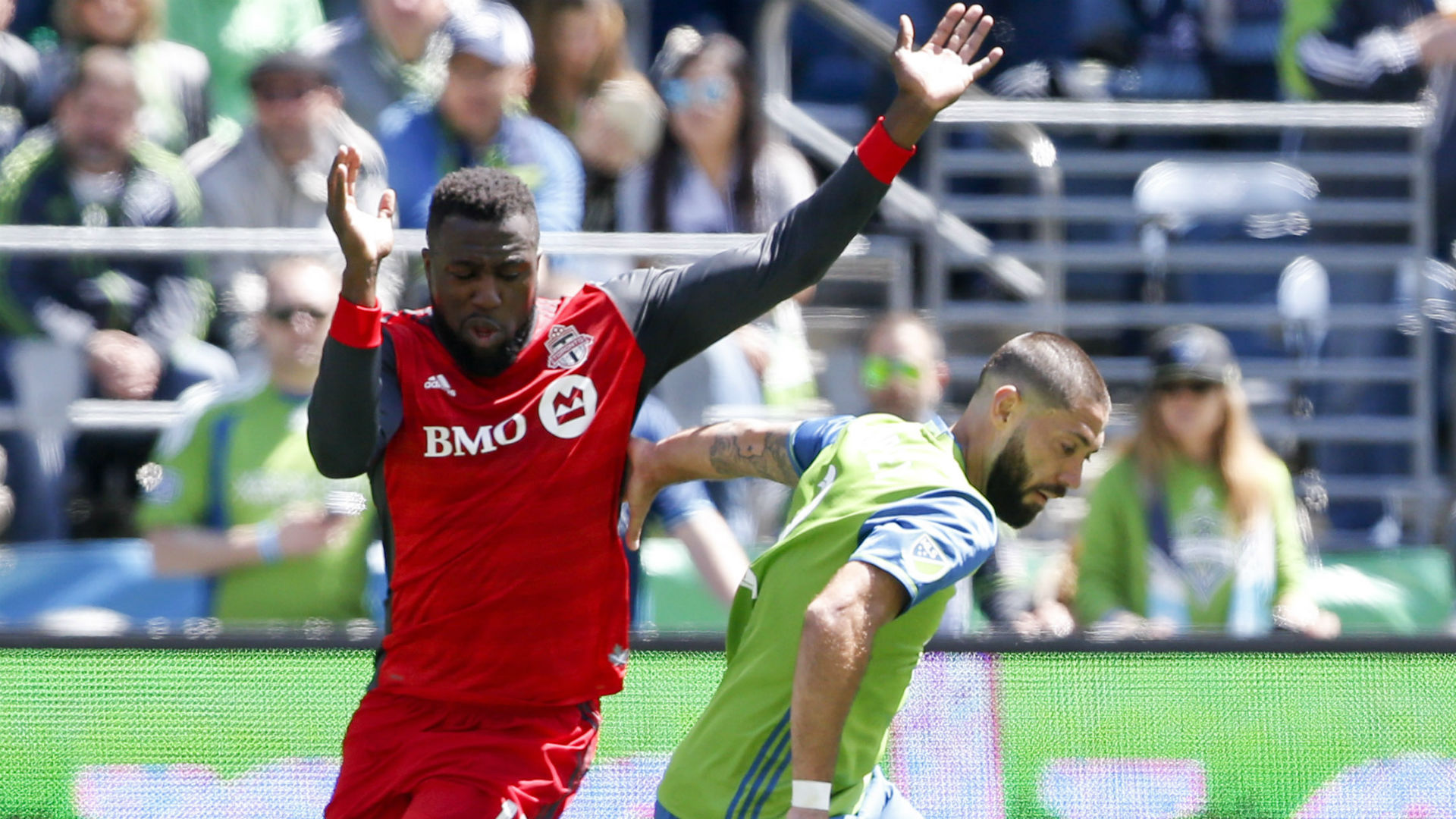 Jozy Altidore Clint Dempsey Toronto FC Seattle Sounders MLS