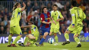 Lionel Messi Barcelona La Liga Getafe 2007