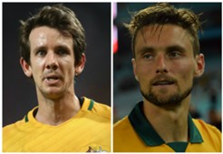 Robbie Kruse James Holland Australia
