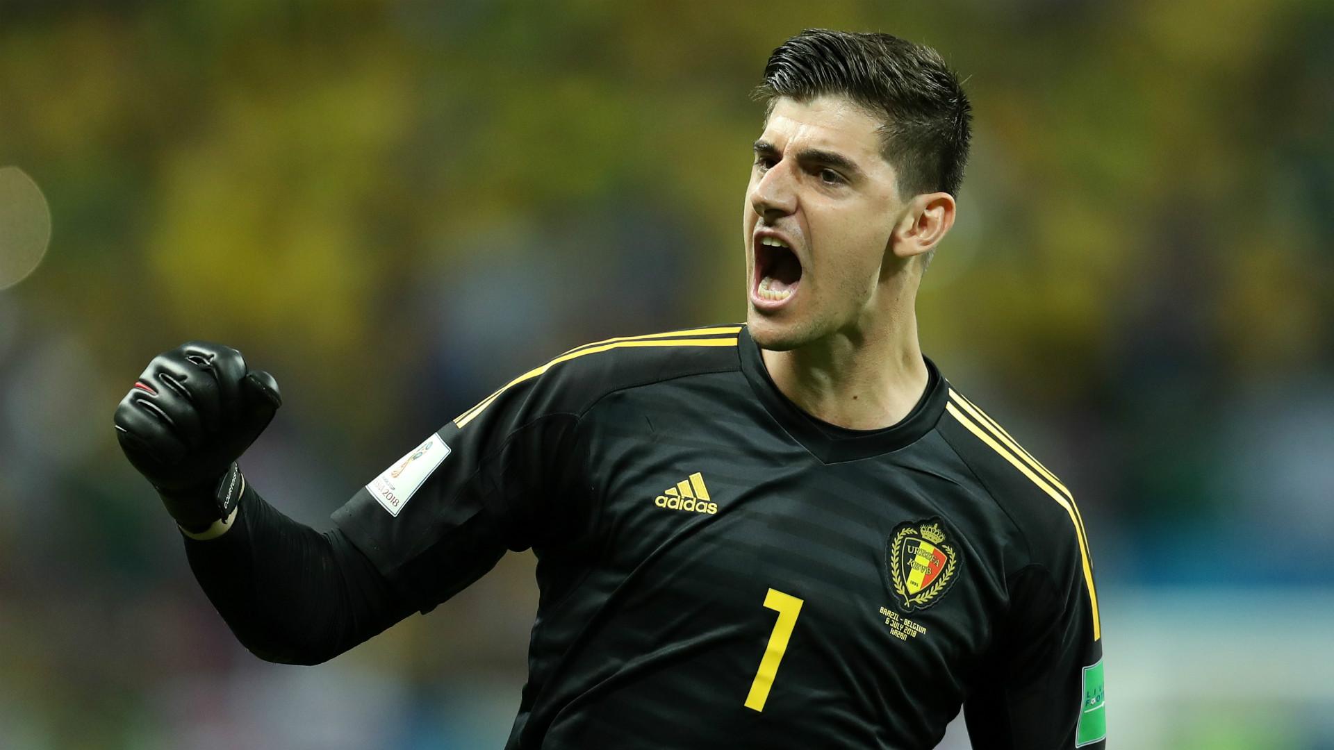 Thibaut Courtois Belgium 2018