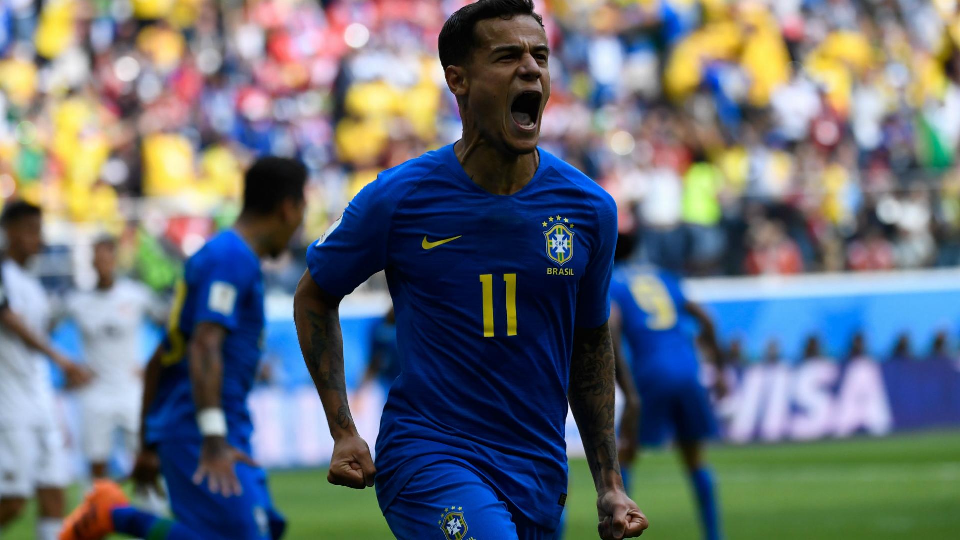 Coutinho I Brasil Costa Rica I 22 06 18 I Copa do Mundo