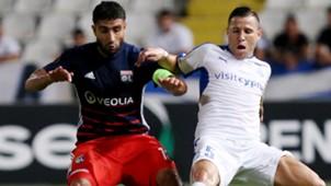 Nabil Fekir Esteban Sachetti Apollon Limassol UEFA Europa League 14092017
