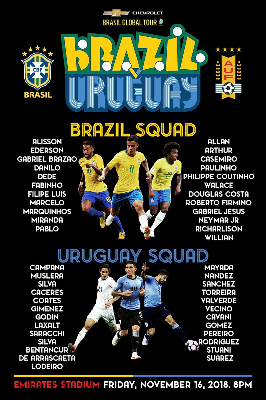 BGT ONLY Brasil x Uruguay