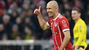Arjen Robben Bayern Munchen Borussia Dortmund Bundesliga 31032018