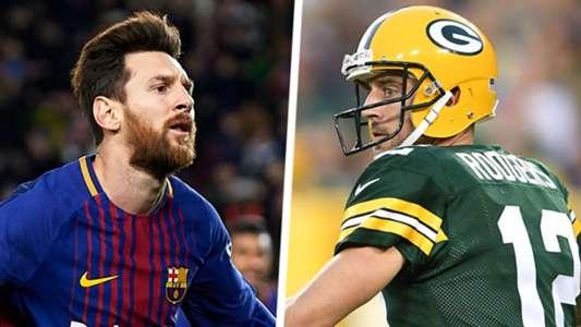 Lionel Messi Aaron Rodgers