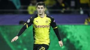 Christian Pulisic Borussia Dortmund Bundesliga