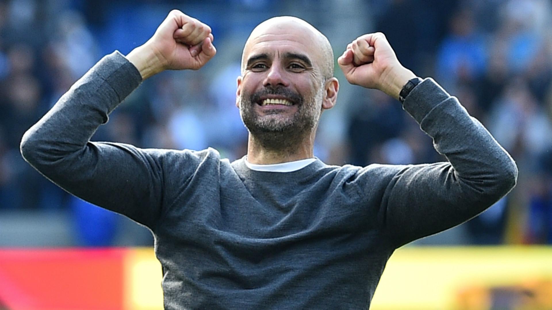 Man City Premier League champions: Pep Guardiola salutes ...