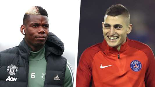 Paul Pogba Marco Verratti Split