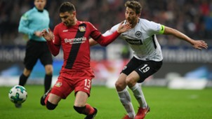 Lucas Alario Eintracht Frankfurt Bayer Leverkusen 25112017