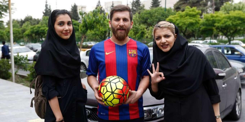 Reza Parastesh Lionel Messi Lookalike
