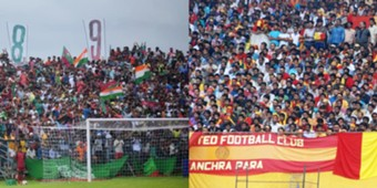Mohun Bagan East Bengal fans