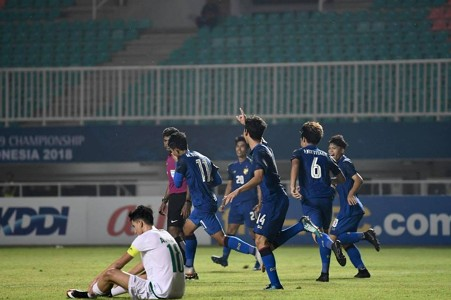 AFC U19 CHAMPIONSHIP : ไทย - อิรัก