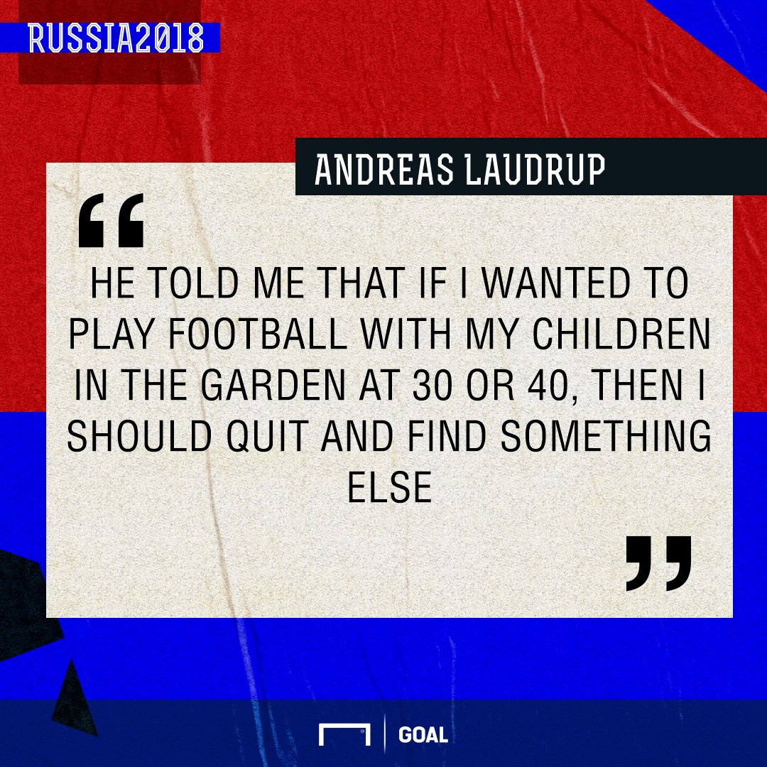 Andreas Laudrup quote GFX