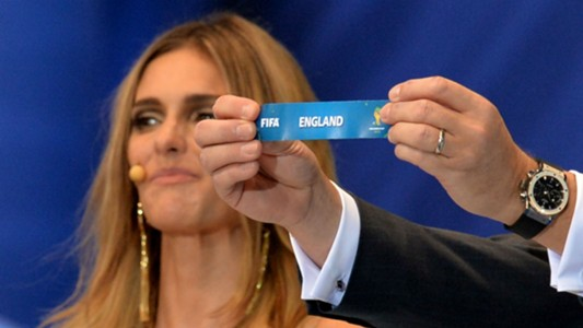 England World Cup draw 2014