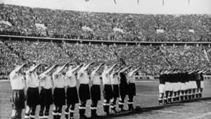 selección inglesa saludo nazi 1938
