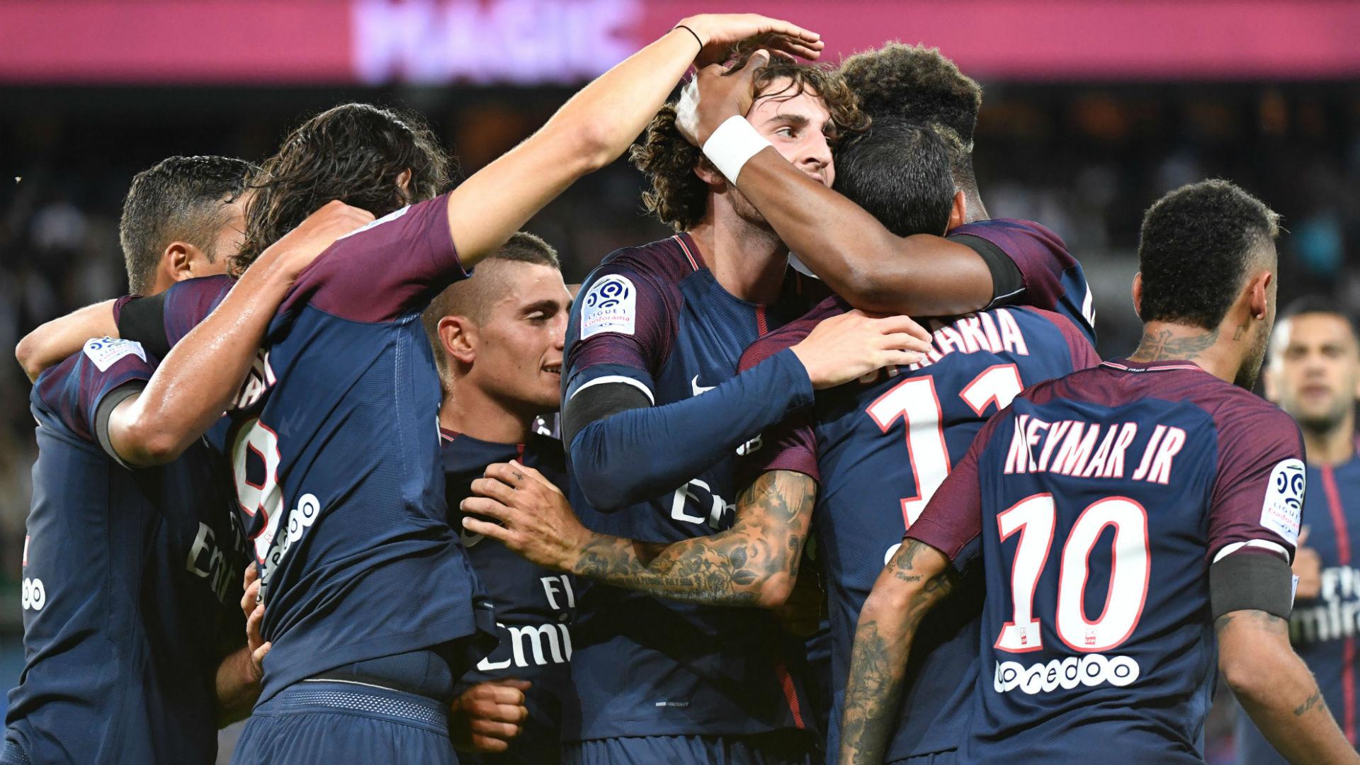 Adrien Rabiot PSG Toulouse Ligue 1 20082017
