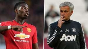 Pogba vs Mourinho