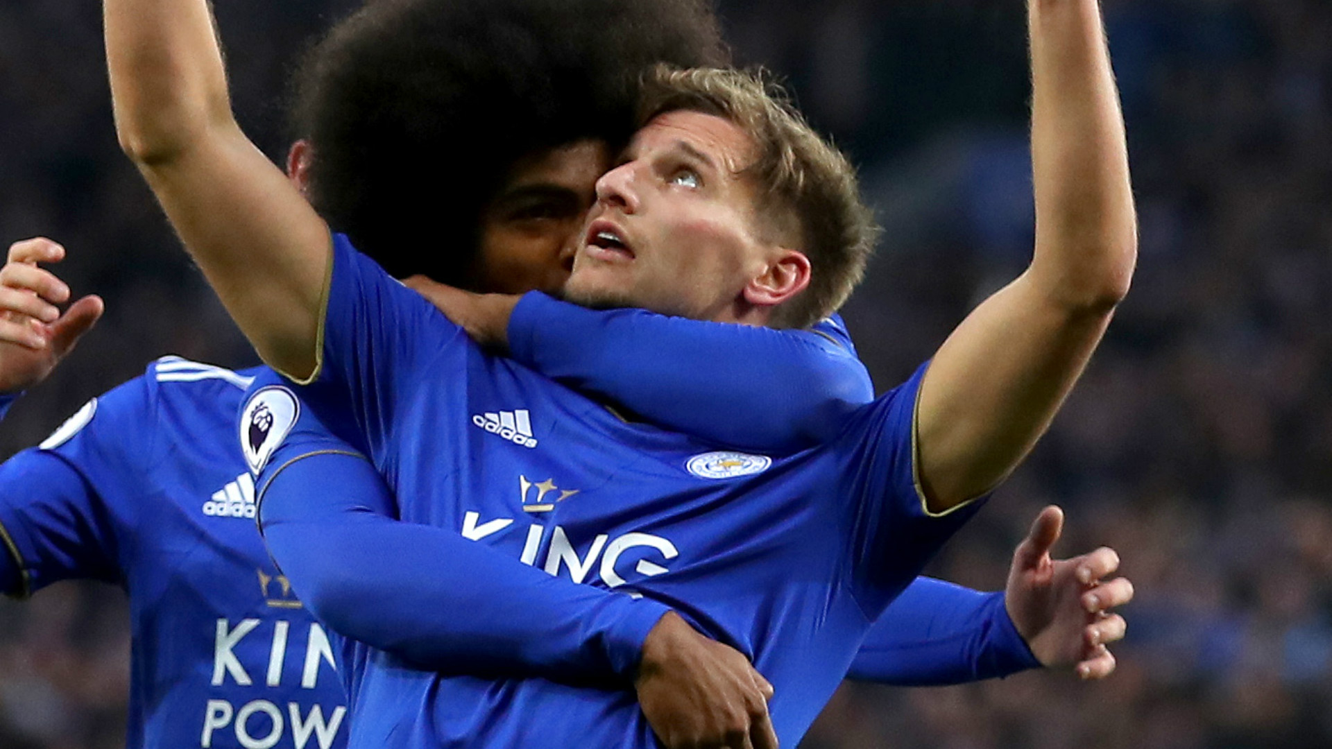 Marc Albrighton Leicester City 2018-19
