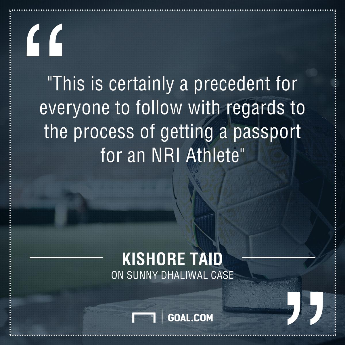 Kishore quote