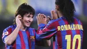 Lionel Messi Ronaldinho Barcelona 2005