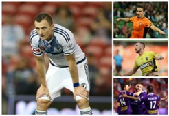 Berisha Maclaren O'Donovan Taggart A-League