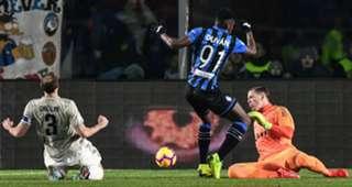 Zapata Atalanta Bergamo Chiellini Juventus 300119