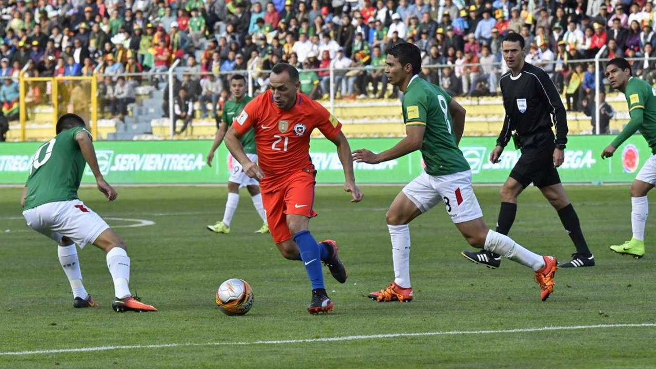 Resultado de imagen para chile bolivia goal