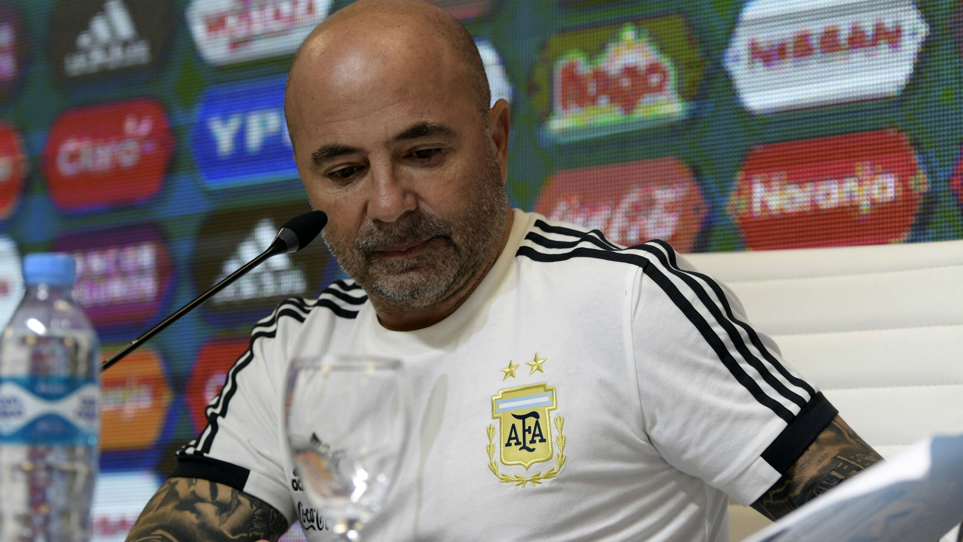 Jorge Sampaoli Seleccion Argentina 21052018