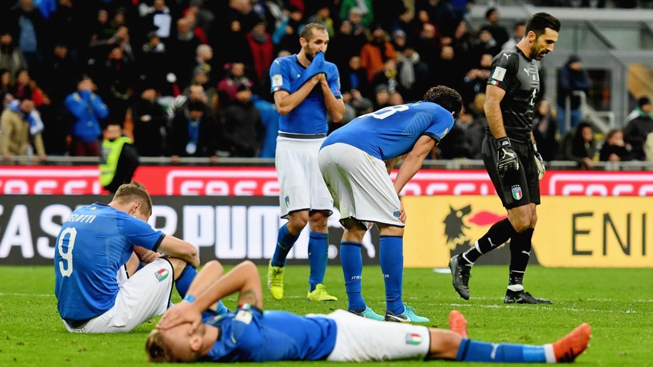 منتخب إيطاليا فشل في التأهل لكأس العالم