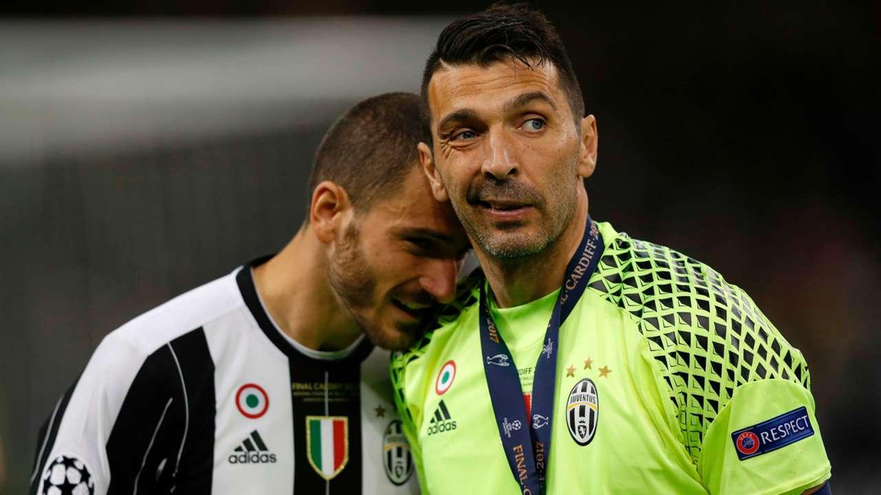Buffon, Bonucci - Juventus