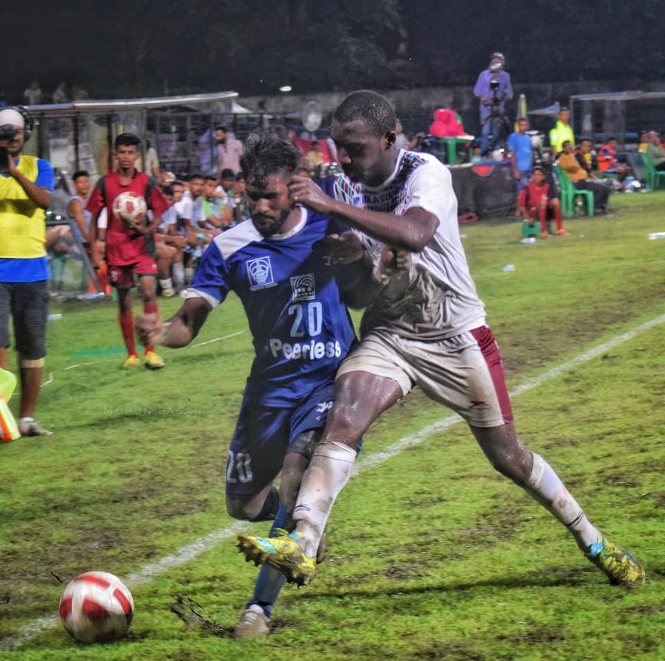 Mohun Bagan vs Peerless Dipanda Dicka