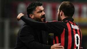 Gattuso Higuain AC Mailand 2019
