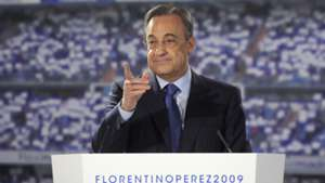 Florentino Perez Real Madrid 2009