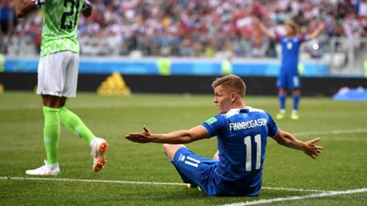 Alfred Finnbogason Iceland Nigeria World Cup 2018