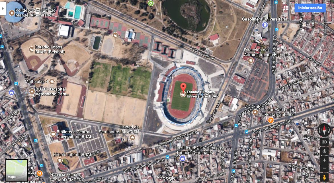 Estadio Olímpico de la BUAP
