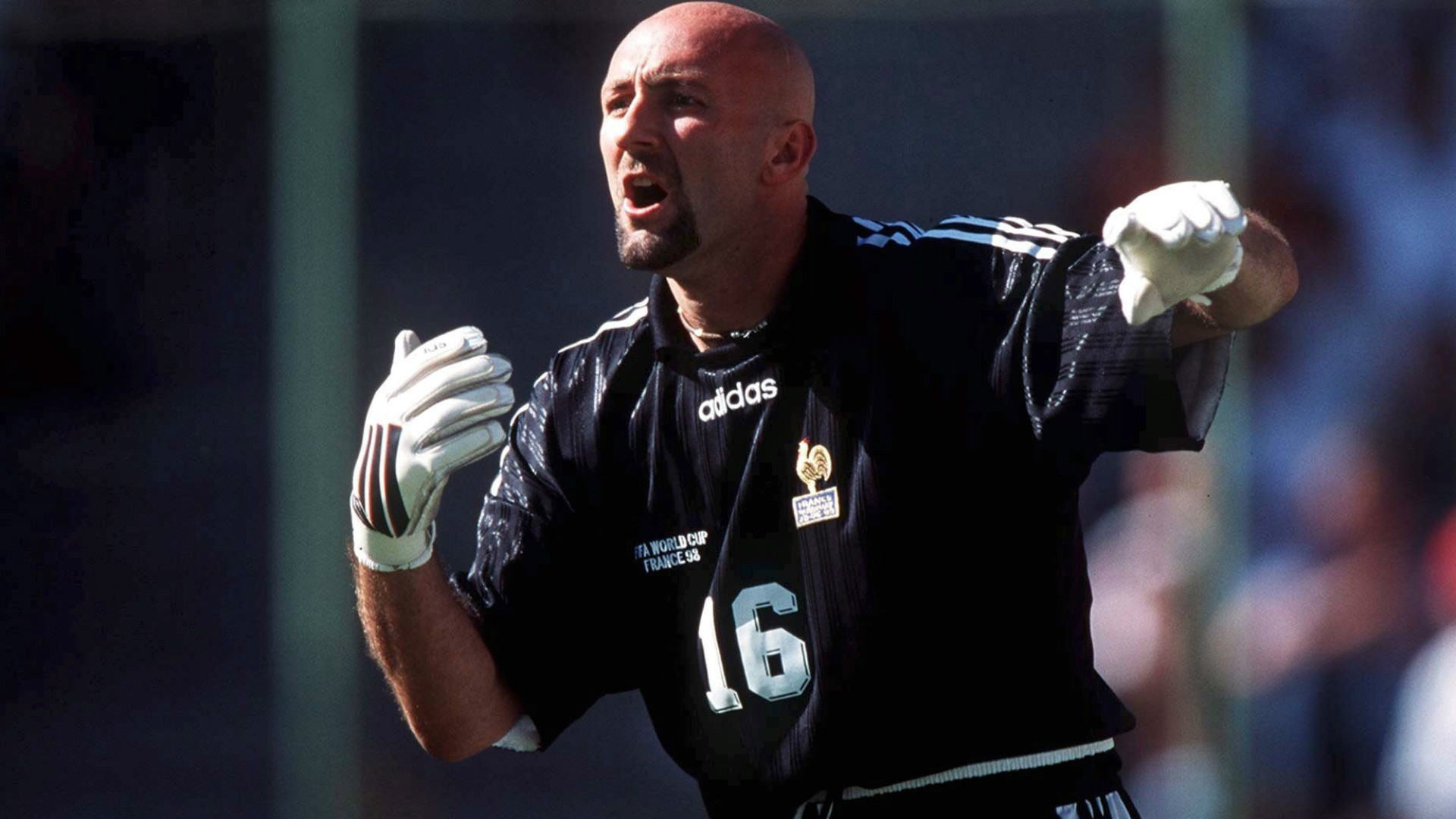 Fabien Barthez France 1998