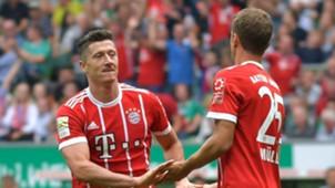 *GER ONLY* Robert Lewandowski Thomas Müller FC Bayern München