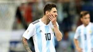 Lionel Messi Argentina Croatia World Cup 2018