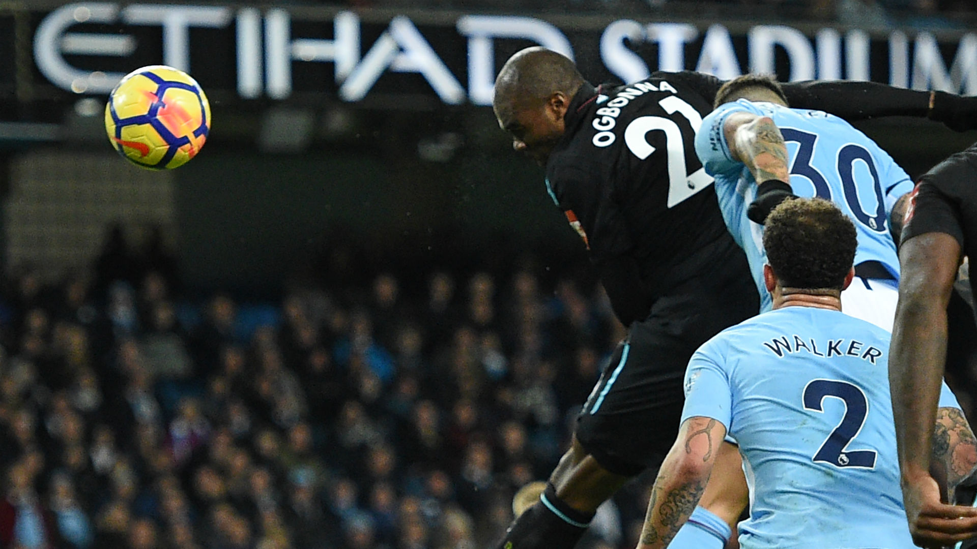 P. League : Manchester City s'en sort face à West Ham