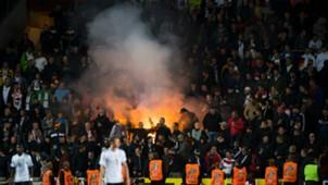 German fans, Czech Republic - Germany, 09012017