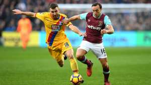 West Ham Crystal Palace Mark Noble Premier League