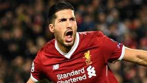 Emre Can Liverpool 2017-18