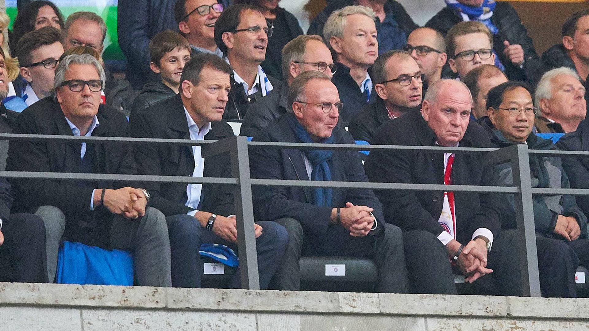 *GER ONLY* Hertha BSC FC Bayern Rummenigge Hoeneß