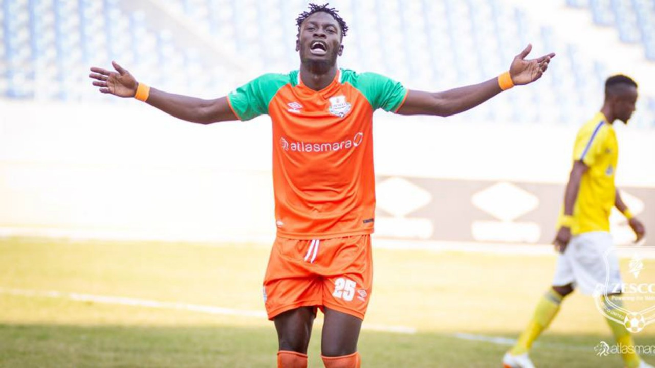 Jesse Were of Zesco United.