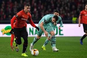 Hatem Ben Arfa Rennes Arsenal Europa League