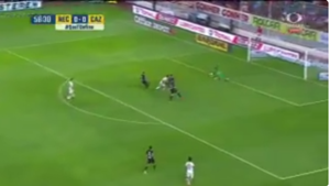 Gol Necaxa vs Cruz Azul Apertura 2017