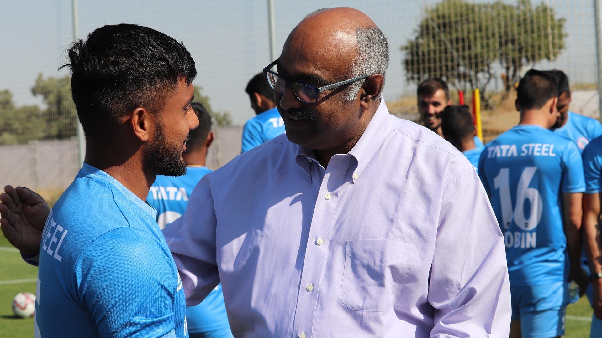 Sunil Bhaskaran Jamshedpur FC