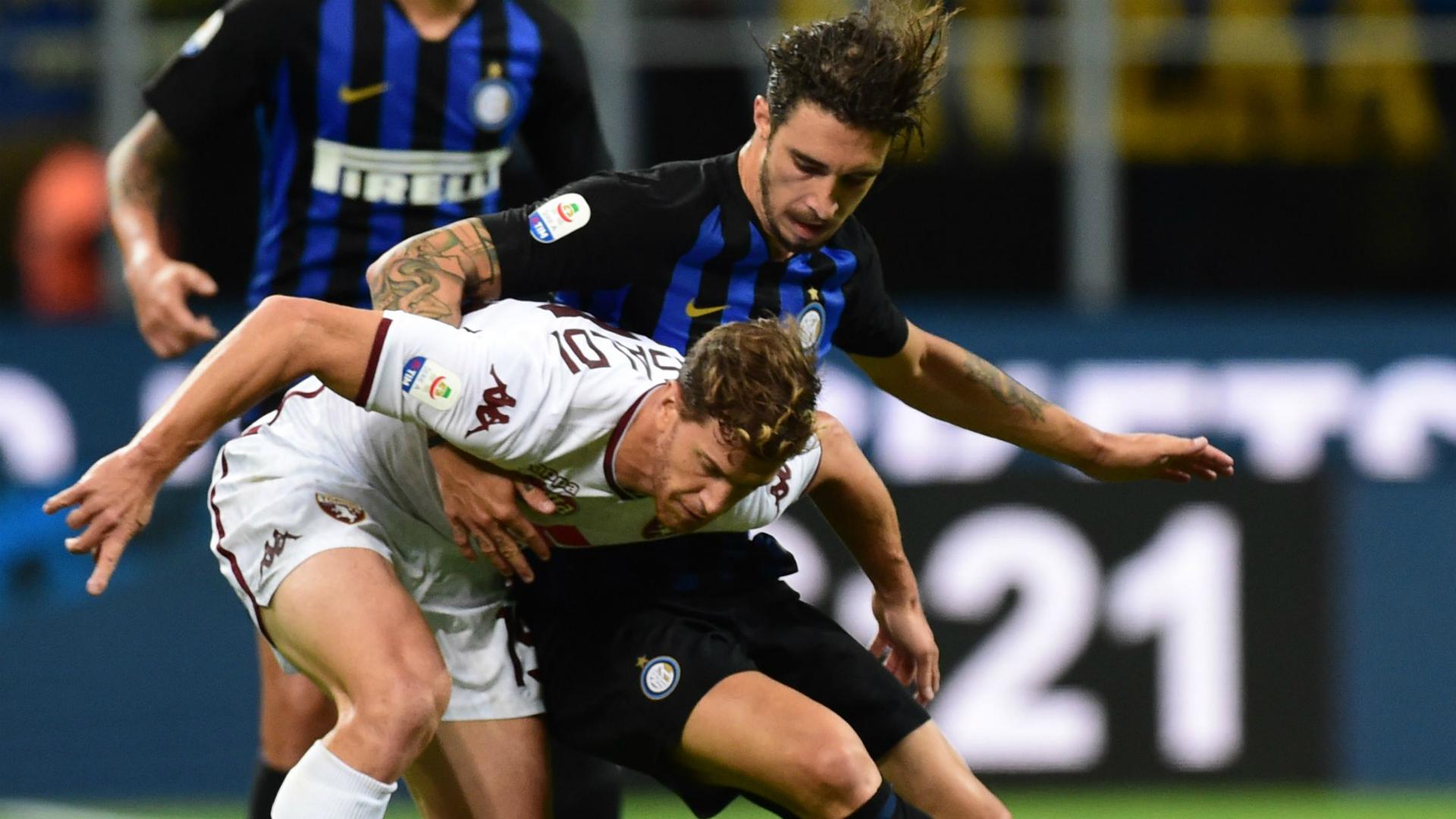 Vrsaljko Ansaldi Inter Torino