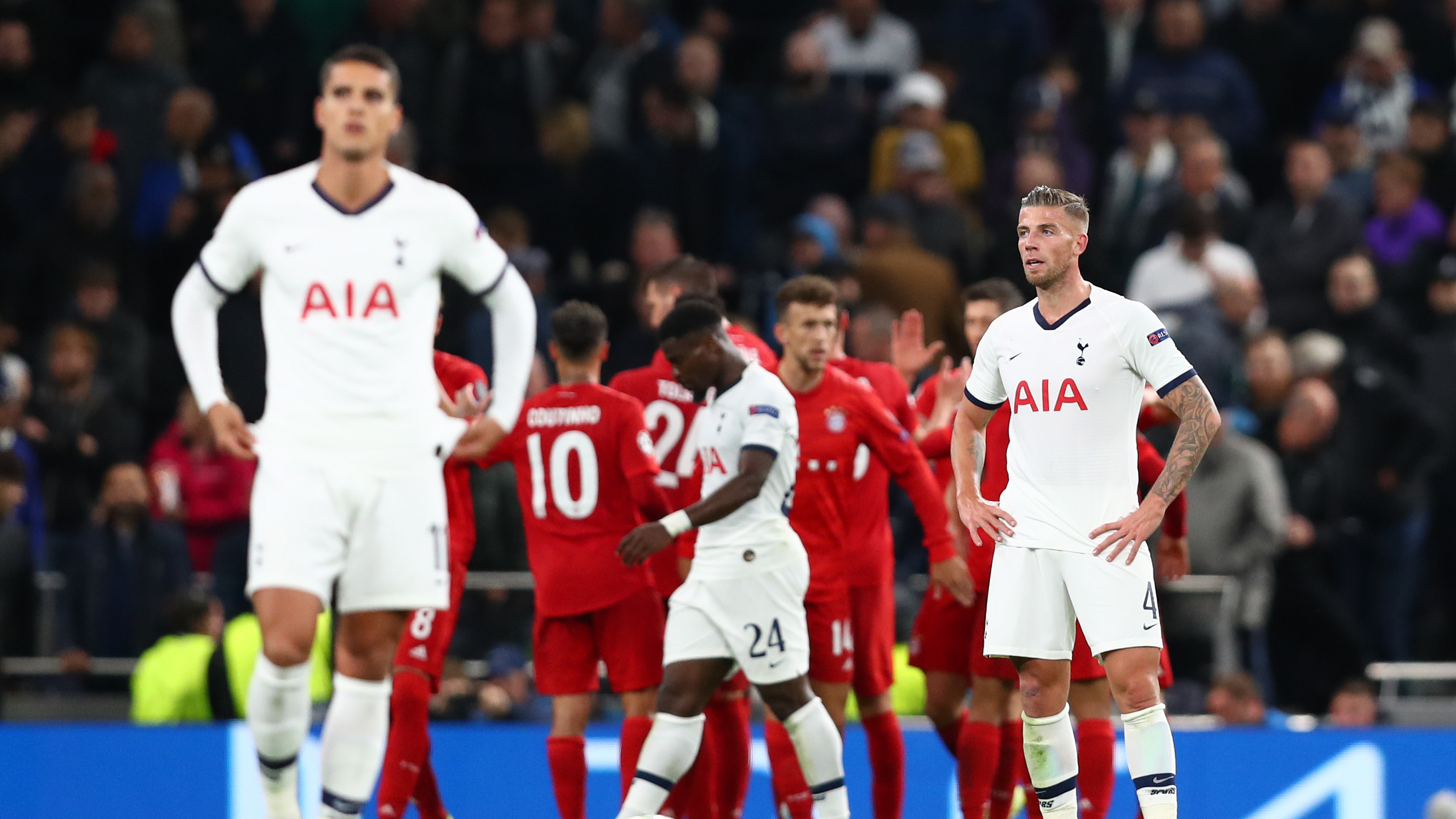 Champions League news: Tottenham gave up in Bayern Munich ...